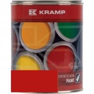 351508KR Lakier, farba pasuje do maszyn Veenhuis, VMR czerwony, czerwona, od roku 1996 1 L, oryginalny kolor producenta