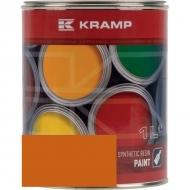 222008KR Lakier, farba pasuje do maszyn Unimog, żółto-ponarańczowy 1 L, oryginalny kolor producenta