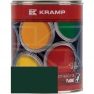 640008KR Lakier, farba pasuje do maszyn Unimog, zieleń mchu, zielona 1 L, oryginalny kolor producenta