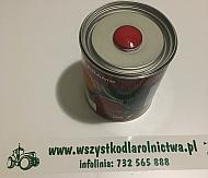 357208KR Lakier, farba pasuje do maszyn Terex, czerwony, czerwona 1 L, oryginalny kolor producenta