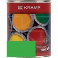 647508KR Lakier, farba pasuje do maszyn Tecnoma, zielony, zielona 1 L, oryginalny kolor producenta