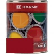 358008KR Lakier, farba pasuje do maszyn Takeuchi, czerwony, czerwona 1 L, oryginalny kolor producenta