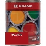 347008KR Lakier, farba pasuje do maszyn Strautmann, czerwony, czerwona do roku 1993 1 L, oryginalny kolor producenta