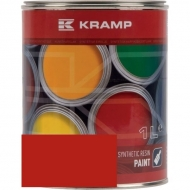 346508KR Lakier, farba pasuje do maszyn Stoll, czerwony, czerwona 1 L