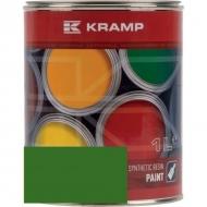 635508KR Lakier, farba pasujący do maszyn Stoll, zielony, zielona od roku 1989 1 L, oryginalny kolor producenta