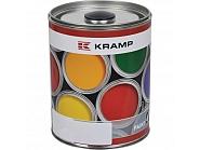 345108KR Lakier, farba pasuje do maszyn Steeno, czerwony, czerwona 1 L, oryginalny kolor producenta