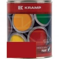 344008KR Lakier, farba pasuje do maszyn Schuitemaker, czerwony, czerwona od 1989 roku 1 L, oryginalny kolor producenta