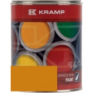 128508KR Lakier, farba pasuje do maszyn Rumptstad, żółty, żółta 1 L, oryginalny kolor producenta