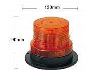 Kogut lampa błyskowa ostrzegawcza 40-LED stroboskop 12-24V 20W na magnes lub przykręcany