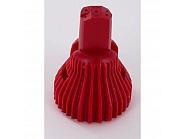 R5X04 Dysza nawozów płynnych Kwix 5-strumieniowa czerwona