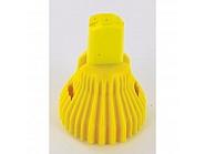 R5X02 Dysza nawozy płynne Kwix 5-strumieniowa żółta