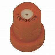 TXB8001VK Dysza o pustym stożku TXB 80° pomarańczowa ceramiczna