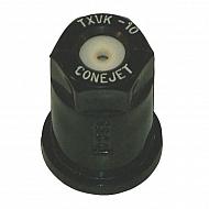 TXVK10 Dysza o pustym stożku TXVK 80° czarna ceramiczna