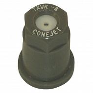 TXVK8 Dysza o pustym stożku TXVK 80° szara,  ceramiczna