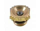 6818017AV Dysza płaskostrumieniowa Ø 1,8 mm mosiądz