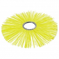 BR6005P4B Szczotka pierścieniowa 600/127 polipro.żółta