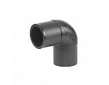 460507075 Kolanko polietylenowe 90° do zgrzewania SDR 17 Plasson, 75 mm