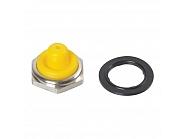 U11515 Pokrywa przełącznika, połowa, żółta, 12 mm
