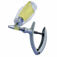 23123 Strzykawka automatyczna, Eco-Matic z mocowaniem na butelkę, 5 ml
