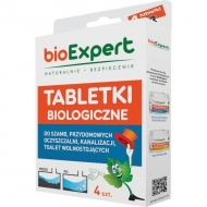 1705061004 Tabletki biologiczne, 4 szt. do szamba i kanalizacji