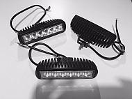6-LED lampa robocza, halogen 18W, 1370 Lm, 9-32V, 6 LED Promocja