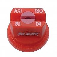 AXI8004 Dysza płaskostrumieniowa AXI 80° czerwona, ceramiczna