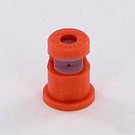 APMORANGE Dysza płaskostrumieniowa APM pomarańczowa, ceramiczna