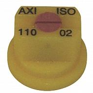 AXI11002 Dysza płaskostrumieniowa AXI 110° żółta ceramiczna