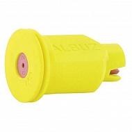 CVI8002 Dysza wtryskiwacza 80°, ceramiczna, żółta