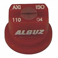 AXI11004 Dysza płaskostrumieniowa AXI 110° czerwona ceramiczna