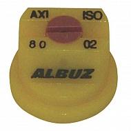 AXI8002 Dysza płaskostrumieniowa AXI 80° żółta ceramiczna