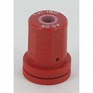 TVI8004 Dysza wtryskiwacza 80° czerwona ceramiczna