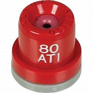ATI8004 Dysza o pusto stożkowa ATI 80° czerwona ceramiczna