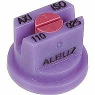 AXI110025 Dysza płaskostrumieniowa AXI 110° fioletowa ceramiczna
