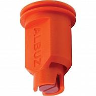 CVI8001 Dysza wtryskiwacza, 80° ceramiczna pomarańczowa