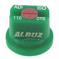 ADI110015 Dysza płaskostrumieniowa ADI110° zielona ceramiczna