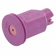CVI80025 Dysza wtryskiwacza 80°, ceramiczna, fioletowa