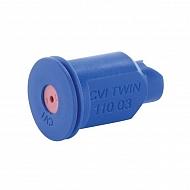 CVITWIN11003 Dysza wtryskiwacza 110°, ceramiczna, niebieska