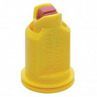 CVITWIN11002 Dysza wtryskiwacza 110°, ceramiczna, żółta