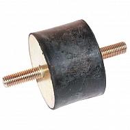 1515A55 Amortyzator gumowy typu A M4x10 15x15 mm