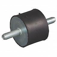 7550A68 Amortyzator gumowy typu A, M12x35, 75x50 mm