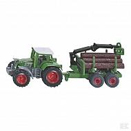 S01645 Traktor z przyczepą Forst