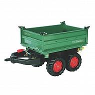 R12220 Traktor Fendt Mega - Trailer zielony