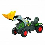 R61108 Traktor Fendt 211 z ładowaczem czołowym + ogumieniem