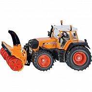 S03660 Traktor Fendt z odśnieżarką