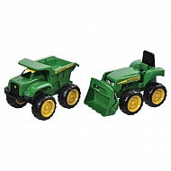 E42952 Zabawka Tomy mini ładowarka John Deere + mini wywrotka JD Big Scoop
