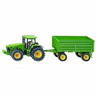 S01953 Traktor John Deere 8430 z przyczepą