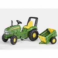 1993035762 Traktor X-Trac John Deere z przyczepką Rolly Farm
