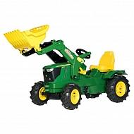 R61110 Traktor John Deere 6210R z ładowaczem czołowym+ogumienie pneumatyczne