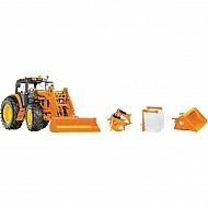 W77342 Traktor John Deere 7430 z ładowaczem czołowym